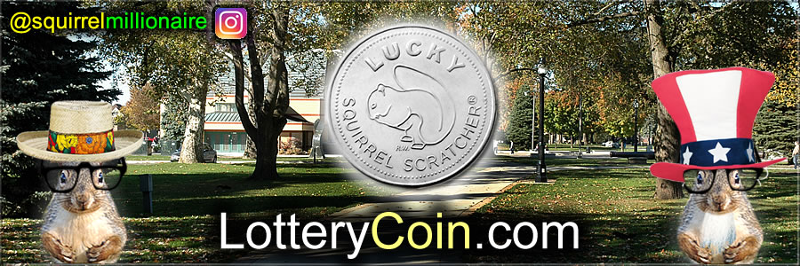 The Lottery Coin Designed by TLC's Squirrel Millionaire Ric Wallace